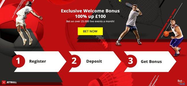 Jetbull Betting Bonus