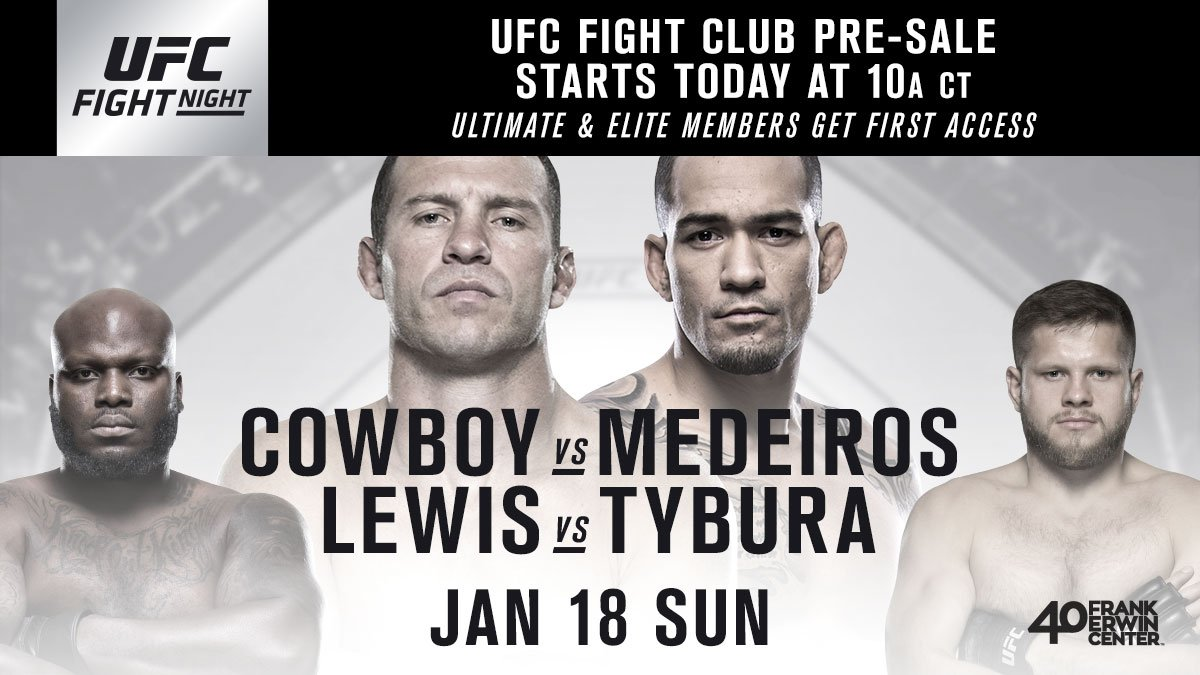 Hey Texas, you ready? #UFCAustin tickets are available for @UFCFightClub members right ..... NOW ➡️ bit.ly/2CwquVa