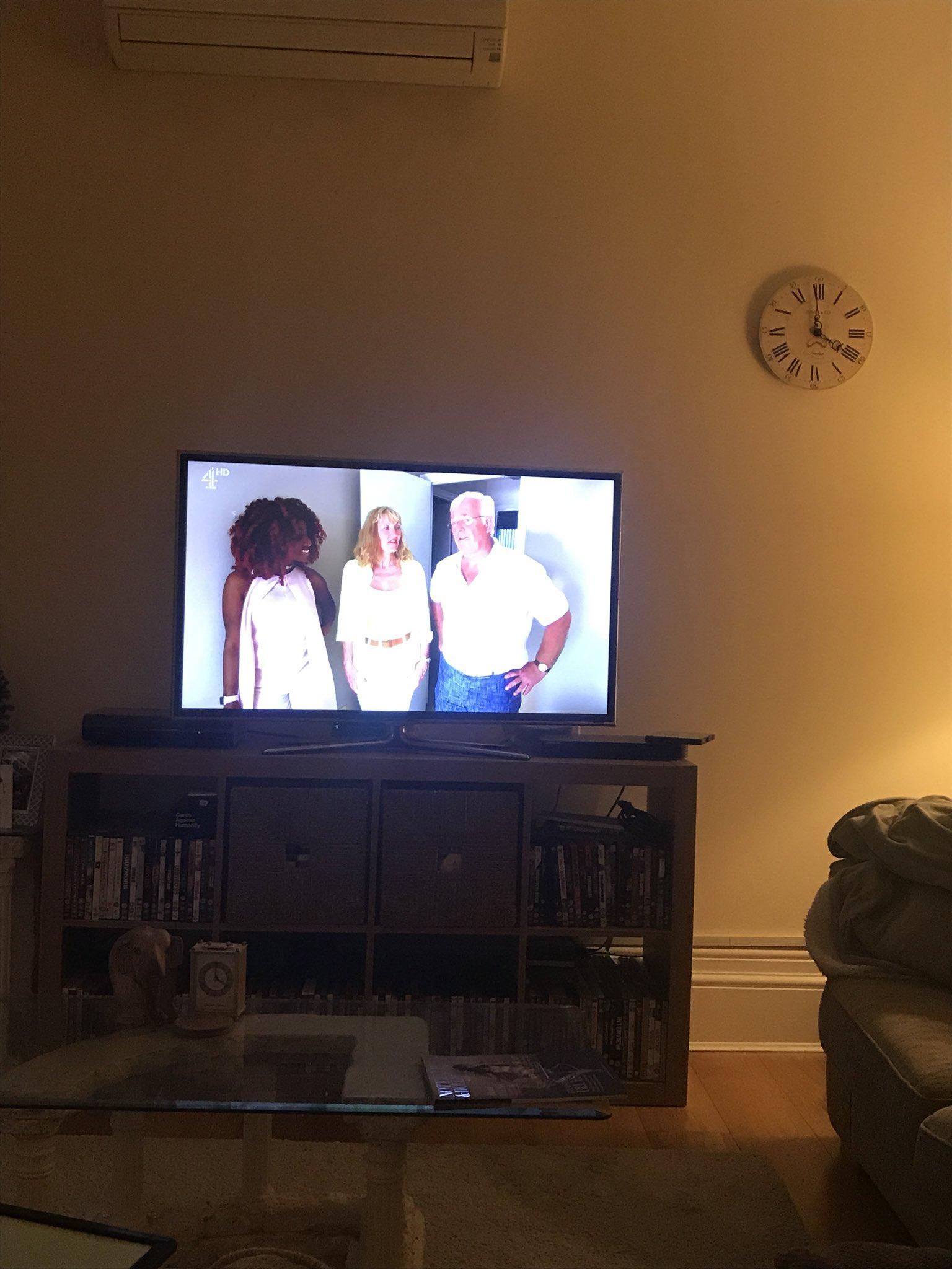 RT @scardoug: I'm on....! Channel 4 now! https://t.co/WU0a0q3bwK