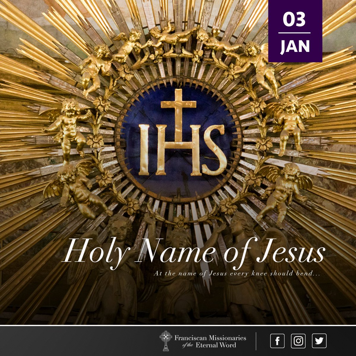 Franciscan friars on twitter today is the memorial of the holy of those in heaven and on earth and under the earth and every tongue confess that jesus christ is lord to the glory of god the father biocorpaavc