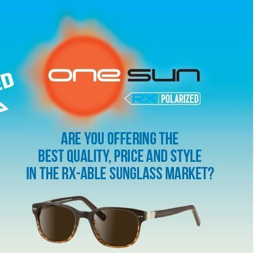 7e82abddc49 Do you offer a sunglass solution for your customers  Are you maximizing  your offerings AND your potential sales  Ask us how!  onesun  2ndpair   sunglasses ...