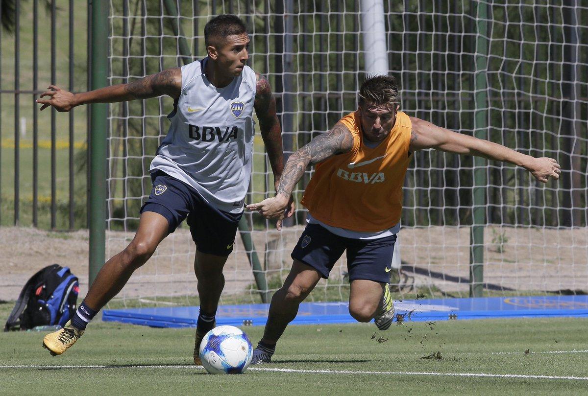 #Pretemporada2018 | El juvenil Agustín Almendra, categoría 2000, en su primera pretemporada con el primer equipo.