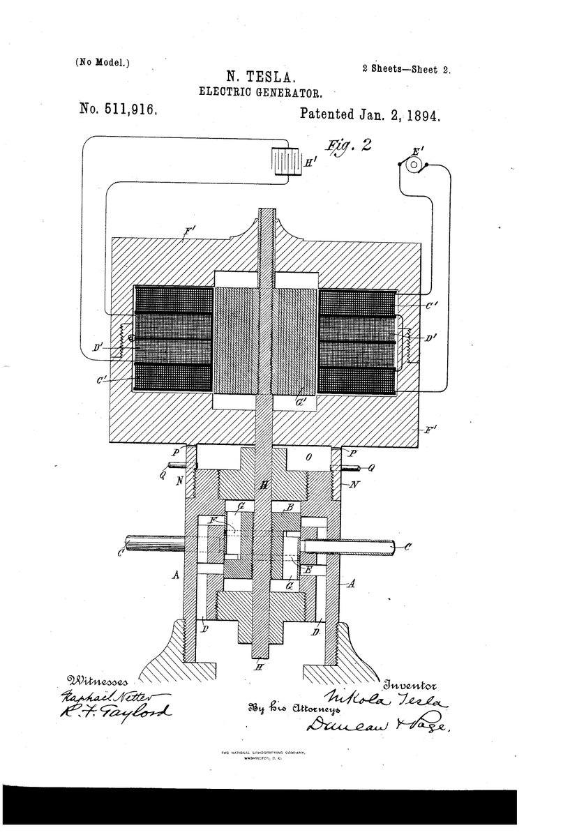 Adam Mossoff On Twitter Icymi January 2 In Innovation History Alternating Current Diagram And Direct Generator Producing Constant Flow First Used Mass Scale To Power The 1893 Chicago Worlds Fair Teslapic 7fdhohdjlg