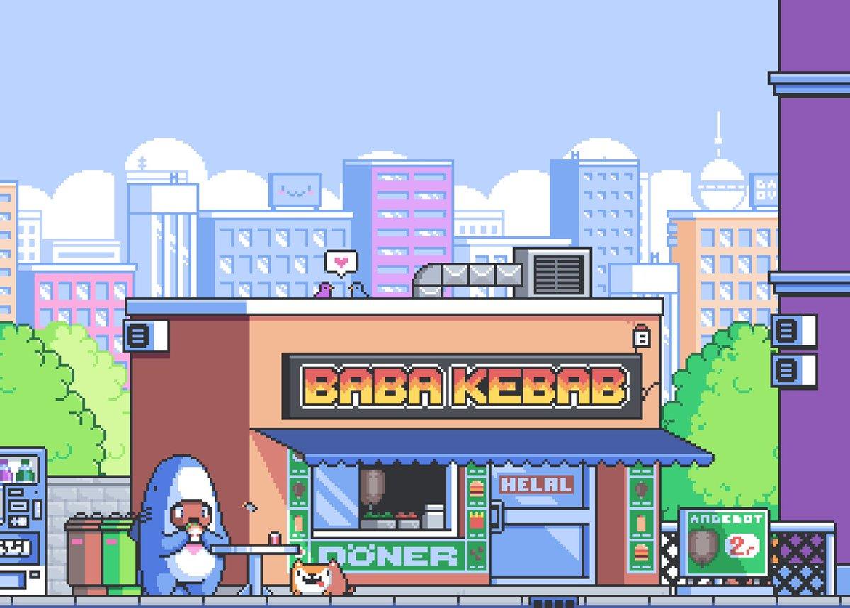 ʜᴀɴs On Twitter Baba Kebab ˆ ڡ ˆ Gamedev Pixelart