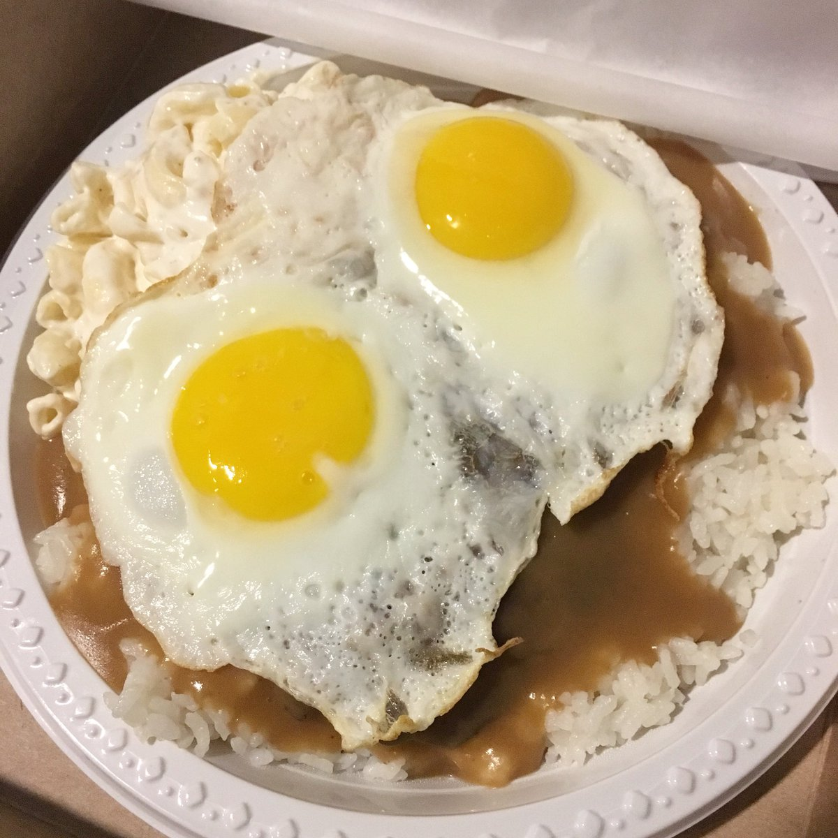 Rainbow Drive In Di Twitter This Is Eggs Actly What You Should Eat Loco Moco Plate Rainbowdrivein Rainbowgrinds Kapahulu Hawaii Locomoco Platelunch Https T Co Uio6rv1fb6