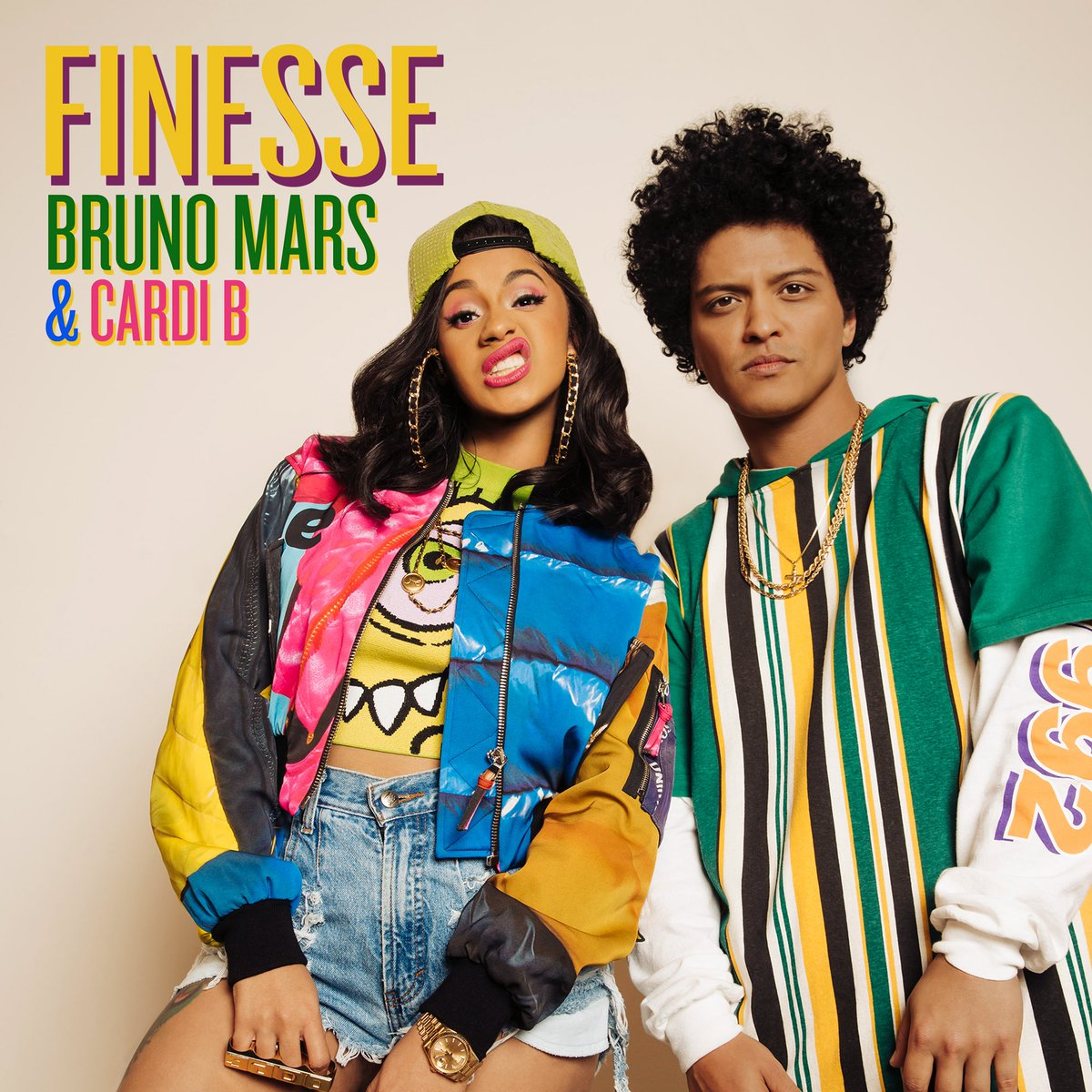 Start your 2018 with Big Bronx Boogie Herself @iamcardib and I Midnight Tonight EST #Finesse