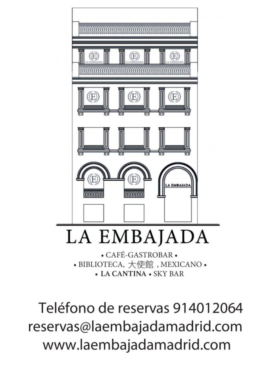 Santito Madrid On Twitter Restaurante Laembajada