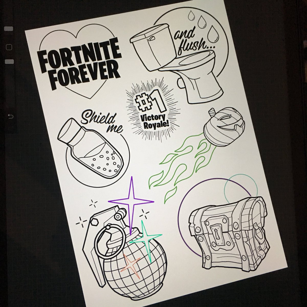 """Fortnite Drawings: Lola Stacey-Jones On Twitter: """"Check Out My New Fortnite"""