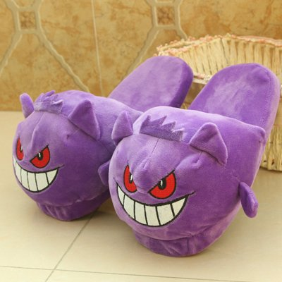 Anime Cartoon Pokemon Slippers Plush Shoes Home Kids slippers ...
