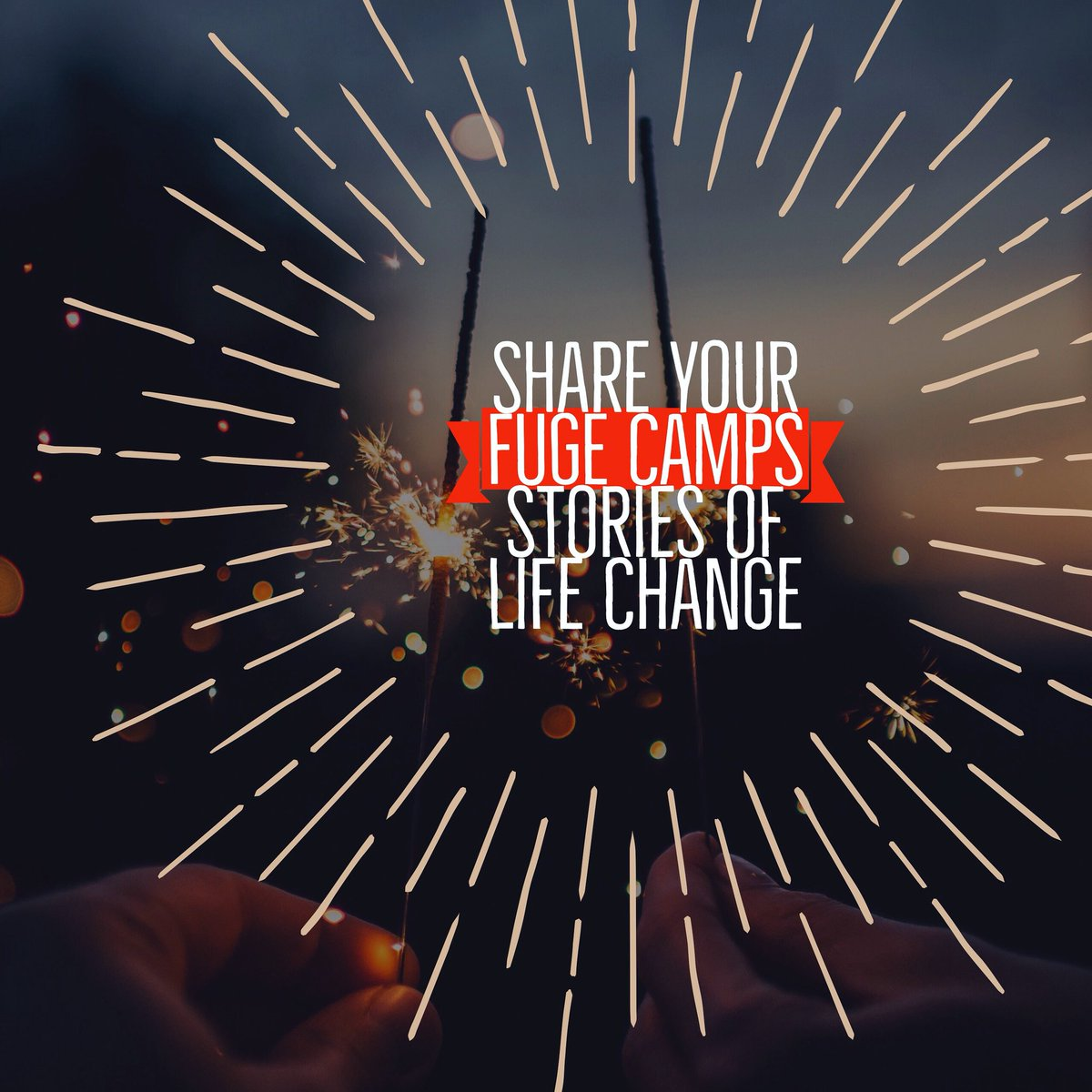 test Twitter Media - Have you experienced life change at FUGE Camps? We would love to hear your story. You can email your story to kyle.cravens@lifeway.com. Subject: FUGE Life Change. 1,000 words or less.   We will be posting some of these stories in celebration of FUGE Camps' 40th summer! https://t.co/68s8Xbe2JK