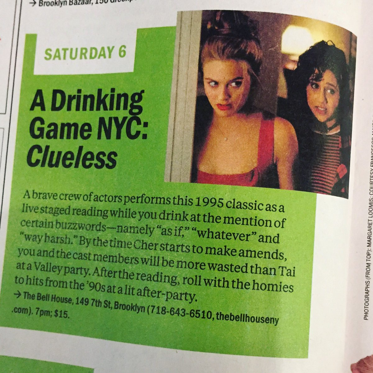 A Drinking Game NYC Time Out New York The Bell House And 2 Others