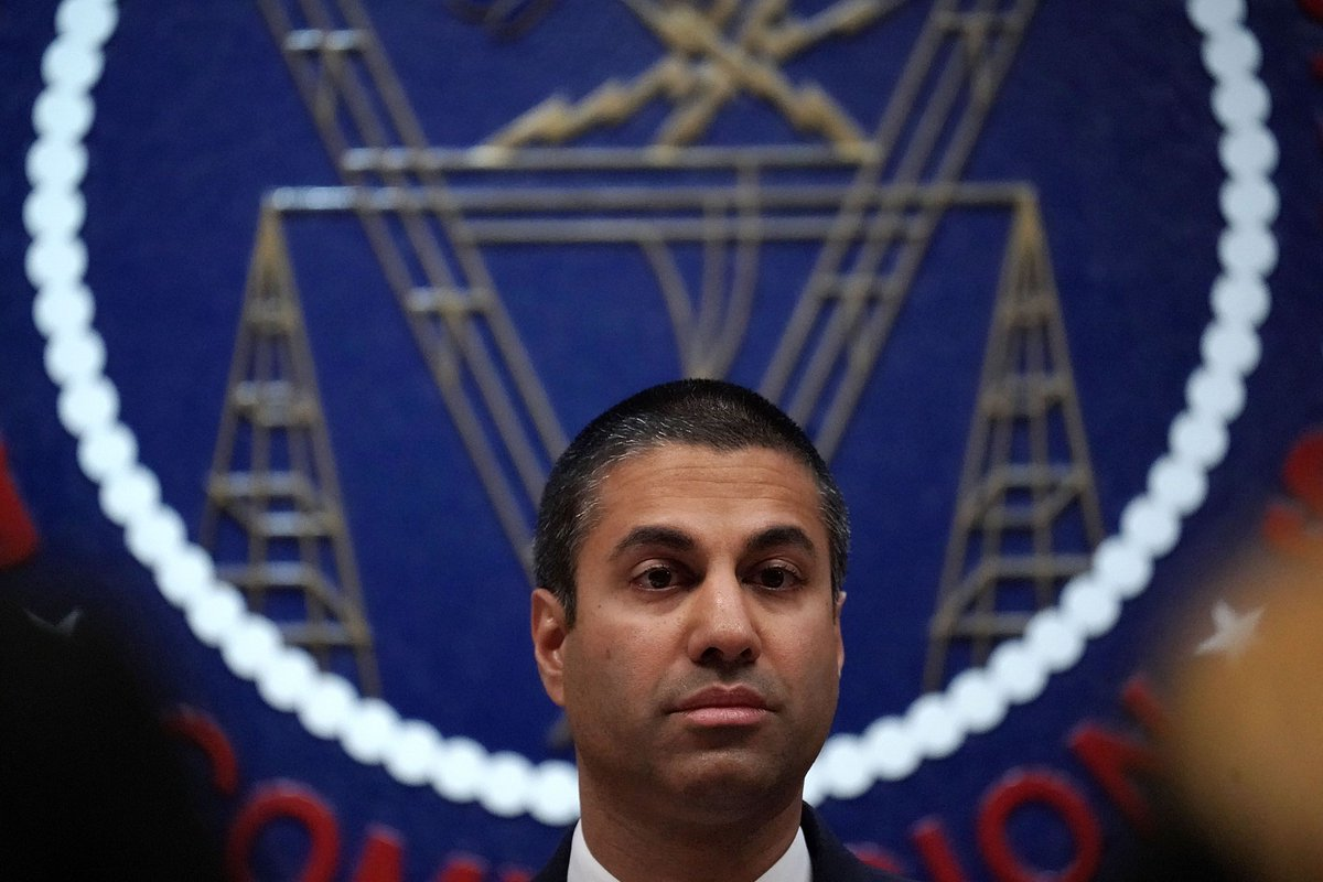 FCC chairman Ajit Pai cancels CES appearance a week before show https://t.co/PuU0AnisIw