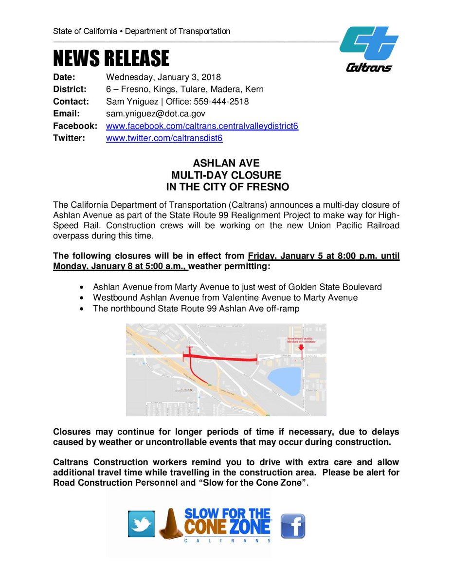 Caltrans District 6 on Twitter: