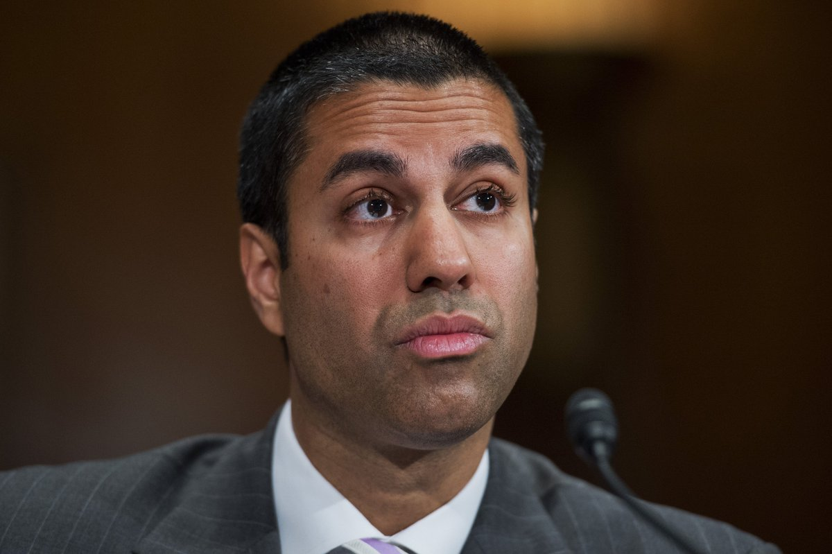 FCC Chairman Ajit Pai won't be at #CES2018 after all https://t.co/Y6EzU8vNEO