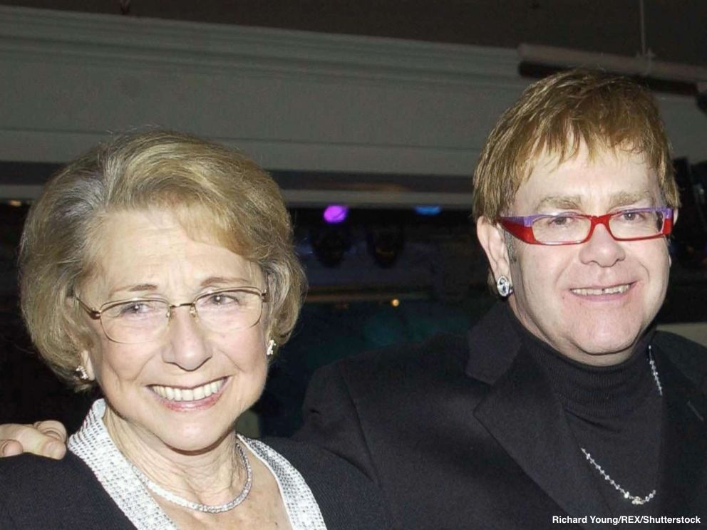 Sir Elton John Pays Tribute to His Mother at Her Funeral   Baaz