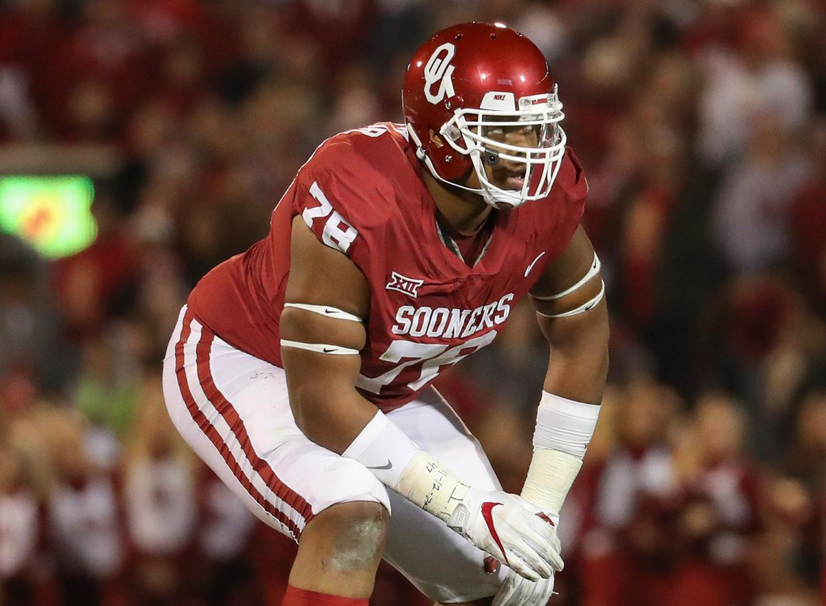 Oklahoma OT Orlando Brown intends to enter 2018 #NFLDraft.  https://t.co/yoKxx6k0X0
