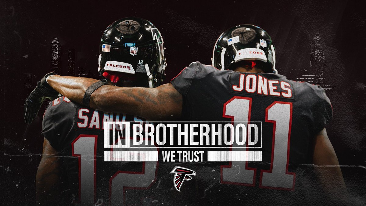"2018 Atlanta Falcons Wallpapers Pc: Atlanta Falcons On Twitter: ""We're All In For Our Brothers"