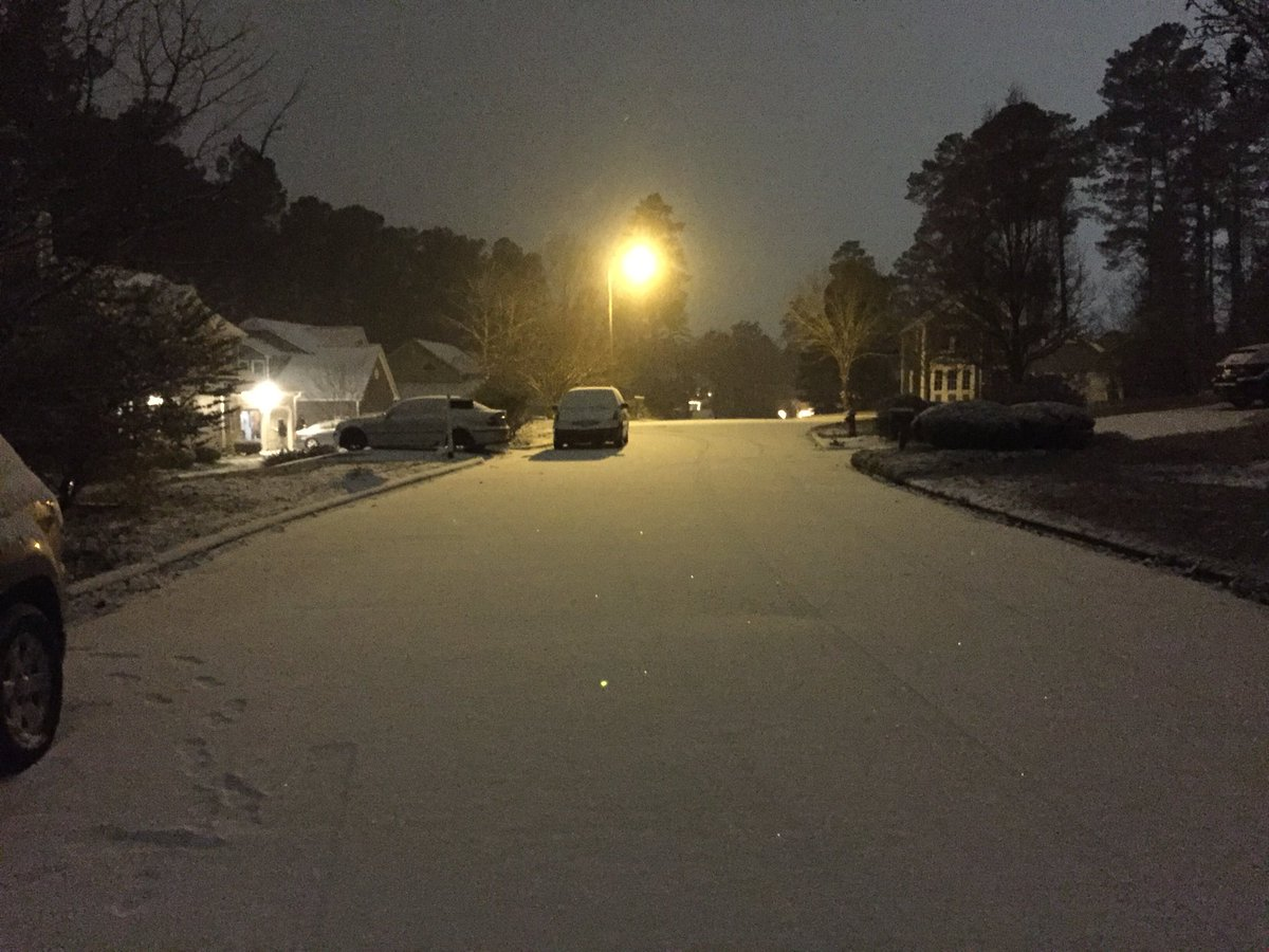 Cityofdurhamnc On Twitter Durham City Streets Are Covered In Snow