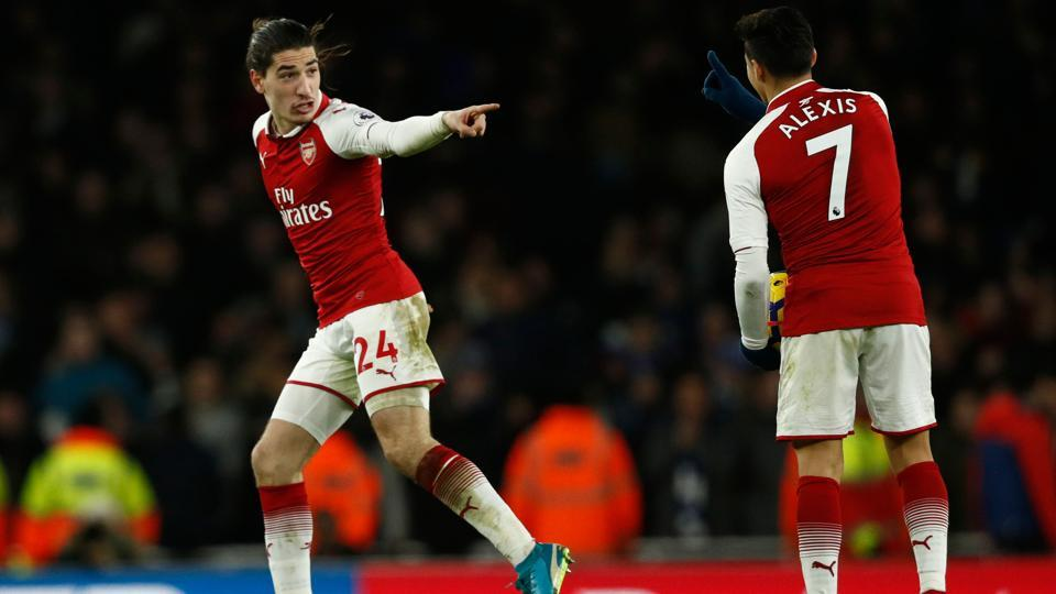 #ARSCHE   @HectorBellerin rescues @Arsenal by clinching 2-2 draw with @ChelseaFC    https://t.co/8ooCQR48b2