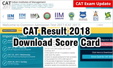 #CATResults2018: 199632 waiting - Expected on Jan 7; Download #scorecard, Check admission chances in top B-schools @ http://bit.ly/2lUI2AR  Out of 199632 candidates who had prepared and attempted the #CATexam well are waiting for the #CATResult2018