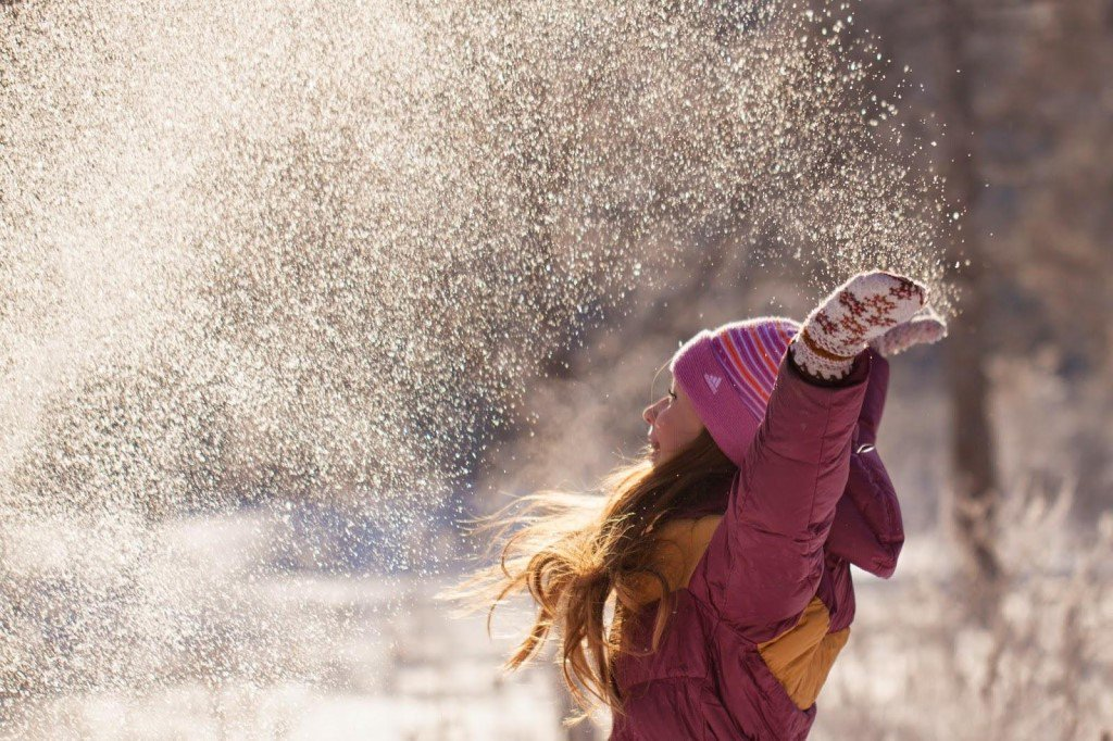 Юбилеем, картинки счастливых людей зимой