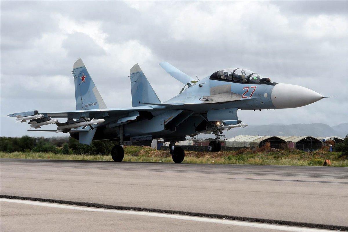تدمير سبع طائرات روسية بقصف على قاعدة حم...