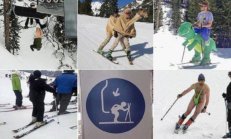 Картинки, картинки на горных лыжах прикольные