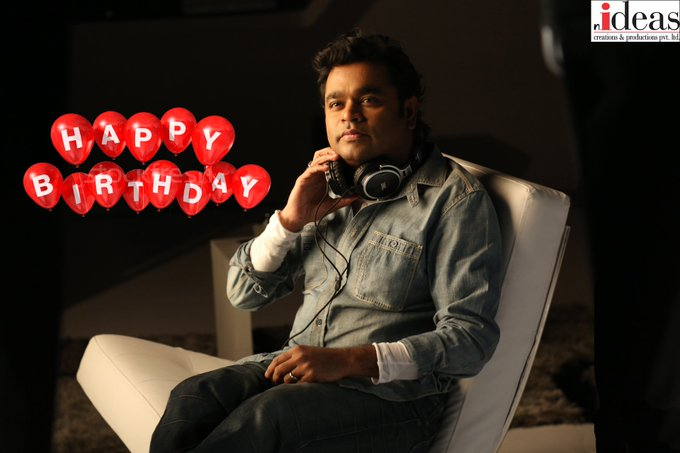 Wishing A.R. Rahman, the person who redefined contemporary Indian music a very Happy Birthday!