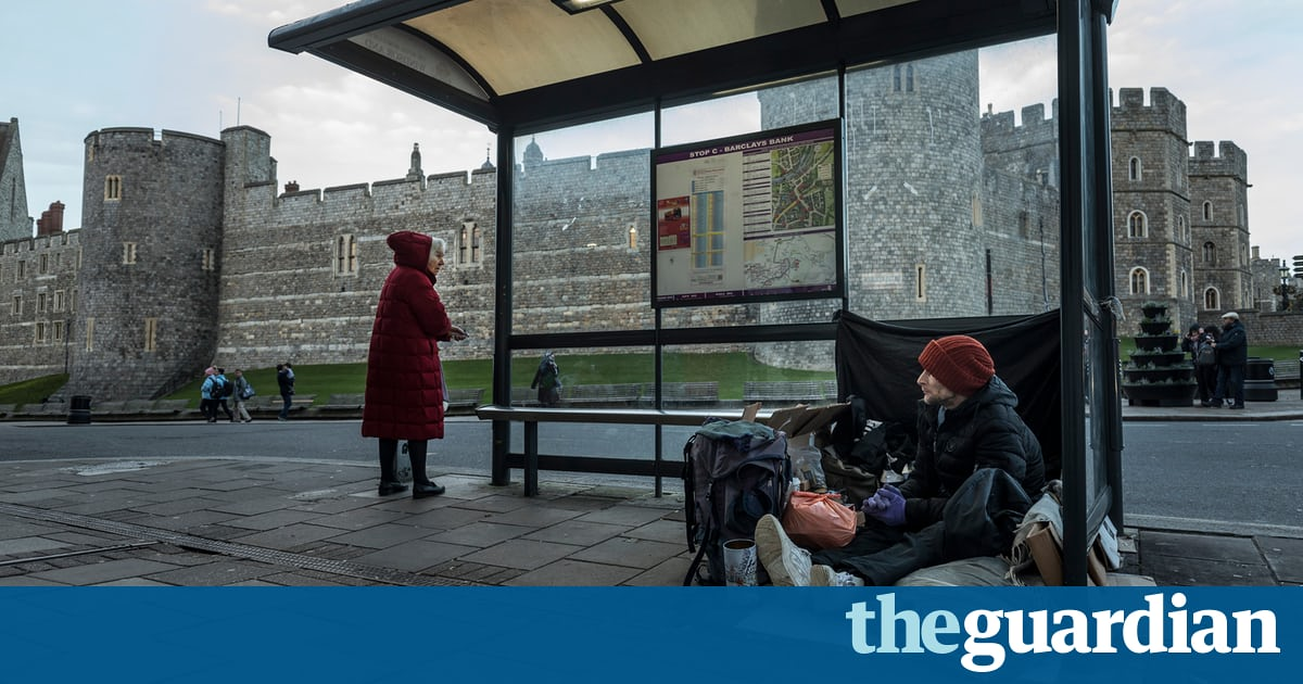A council leader called for action to tackle homeless begging in Windsor, before the wedding of Prince Harry and Meghan Markle.