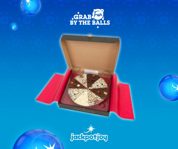 Follow & Retweet to win a giant luxury chocolate pizza! Thinking of cutting out junk food? Not on our watch!   Go on, throw away your New Years Resolutions and grab fun by the balls!  T&C: jpjoy.uk/0BkMJt