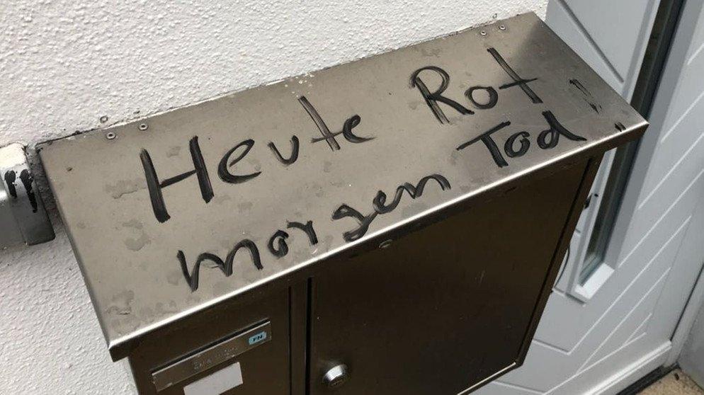 Haus beschmiert: Morddrohung gegen Fürther Nazi-Gegnerin https://t.co/mfY4vEZfKQ #franken
