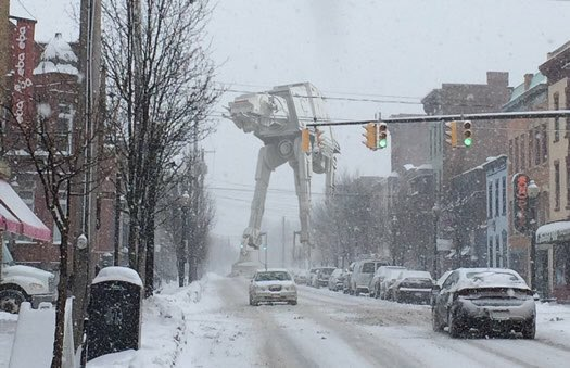 Good to see the plows are out early #bli...