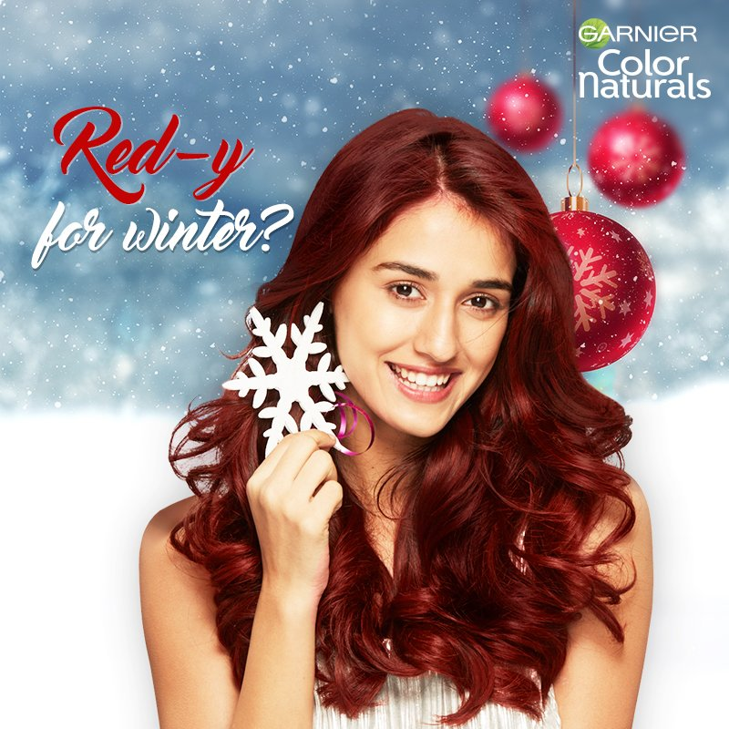 This holiday season, try Garnier Naturals Intense Red for a fun winter look!  #HairColor #HairMakeover #WinterIsHere #GarnierColorNaturals https://t.co/oaxyy2Q1bi