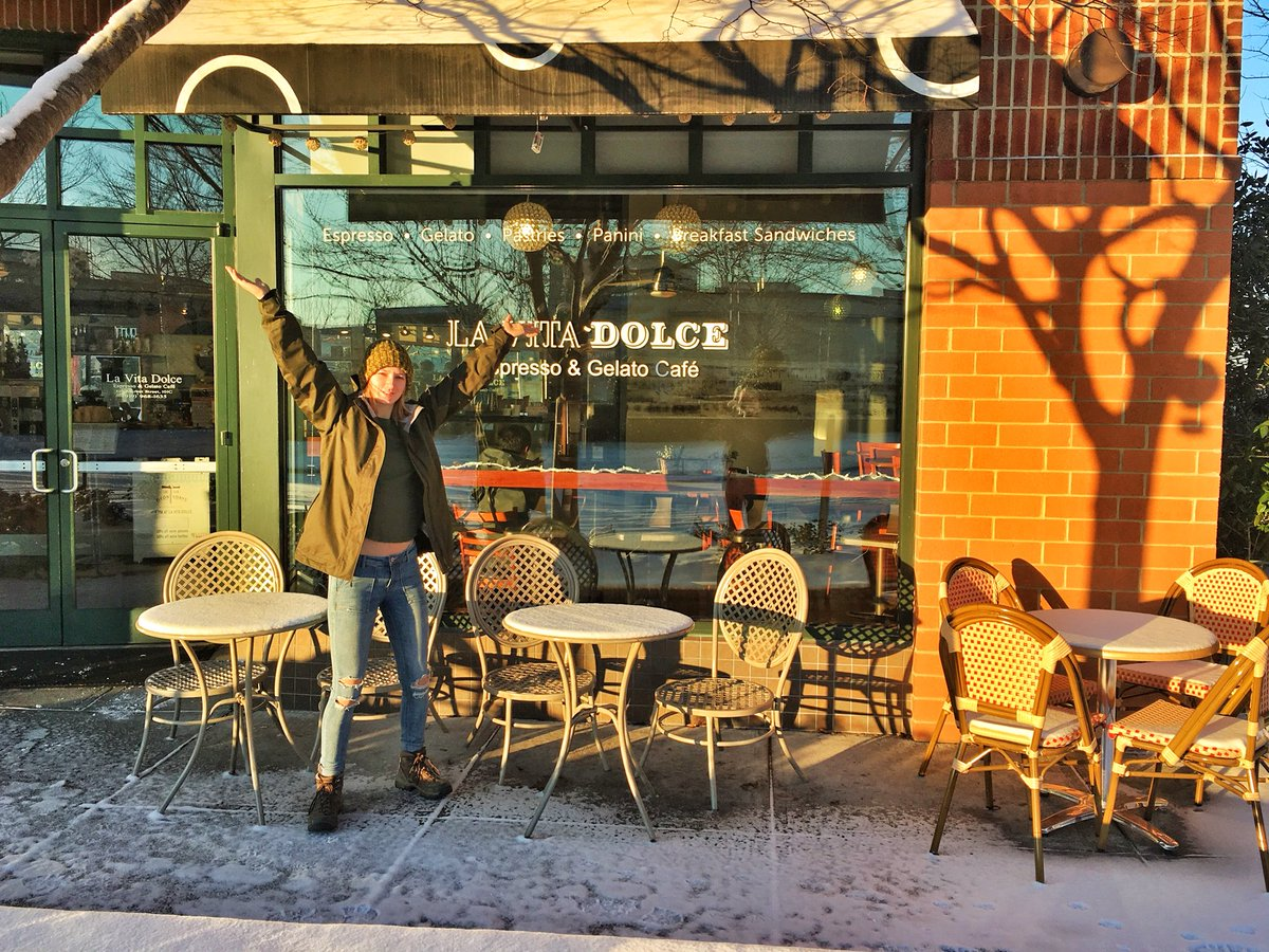 La Vita Dolce Cafe On Twitter Happy Snowday Chapelhill We Are Open For Your Post Snow Ball Fight Oatmeal Latte Coffee Muffins And More Snow Southernvillage Lavitadolcecafe Https T Co Z9zyggvqg4