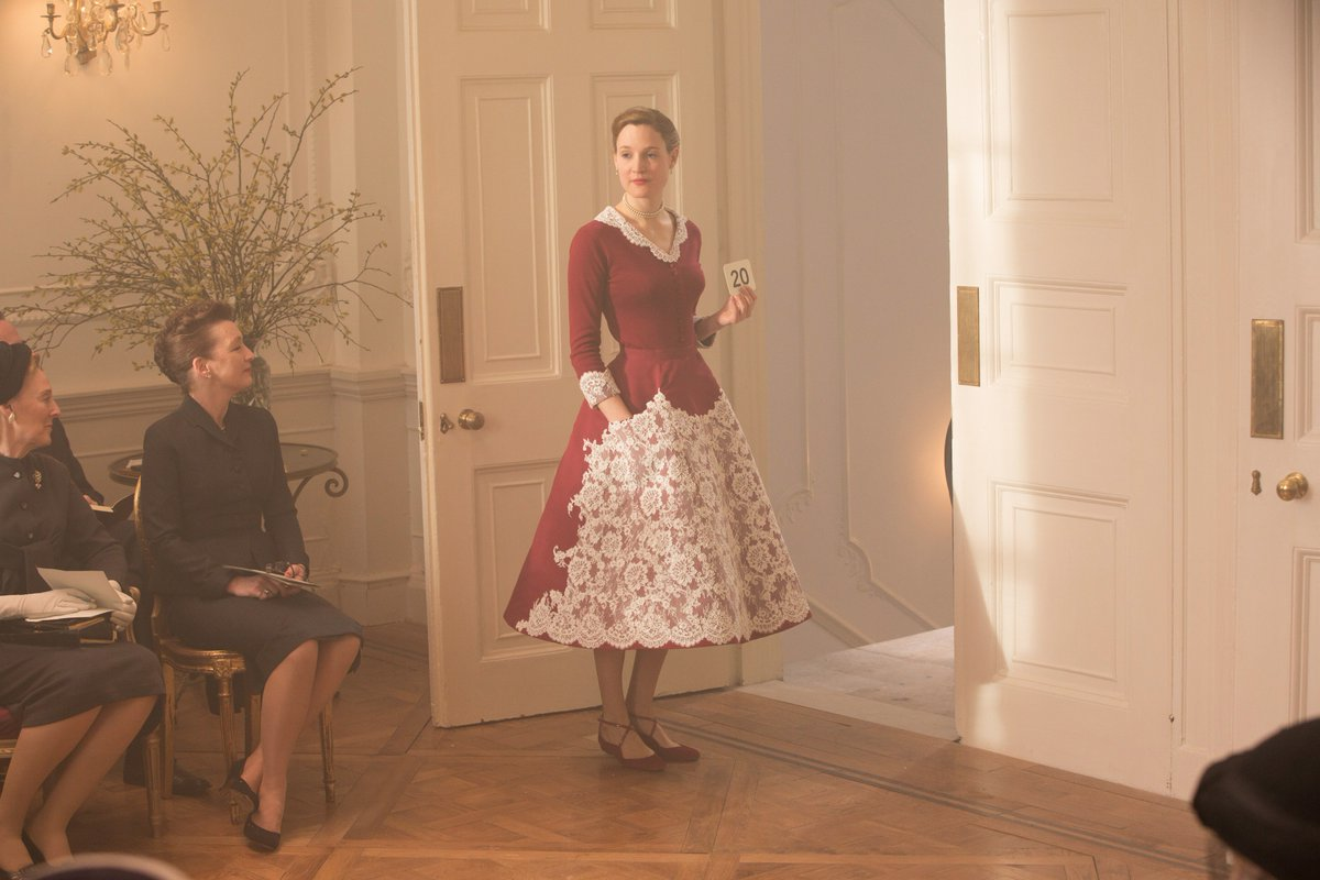 8de090cc9ead ... pink chiffon halter dress – what ... #ICYMI 'Phantom Thread' costume  designer Mark Bridges on creating couture fashion from post