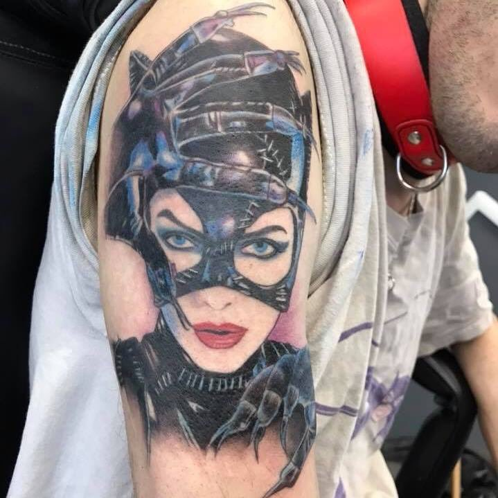 catwoman michelle pfeiffer tattoo