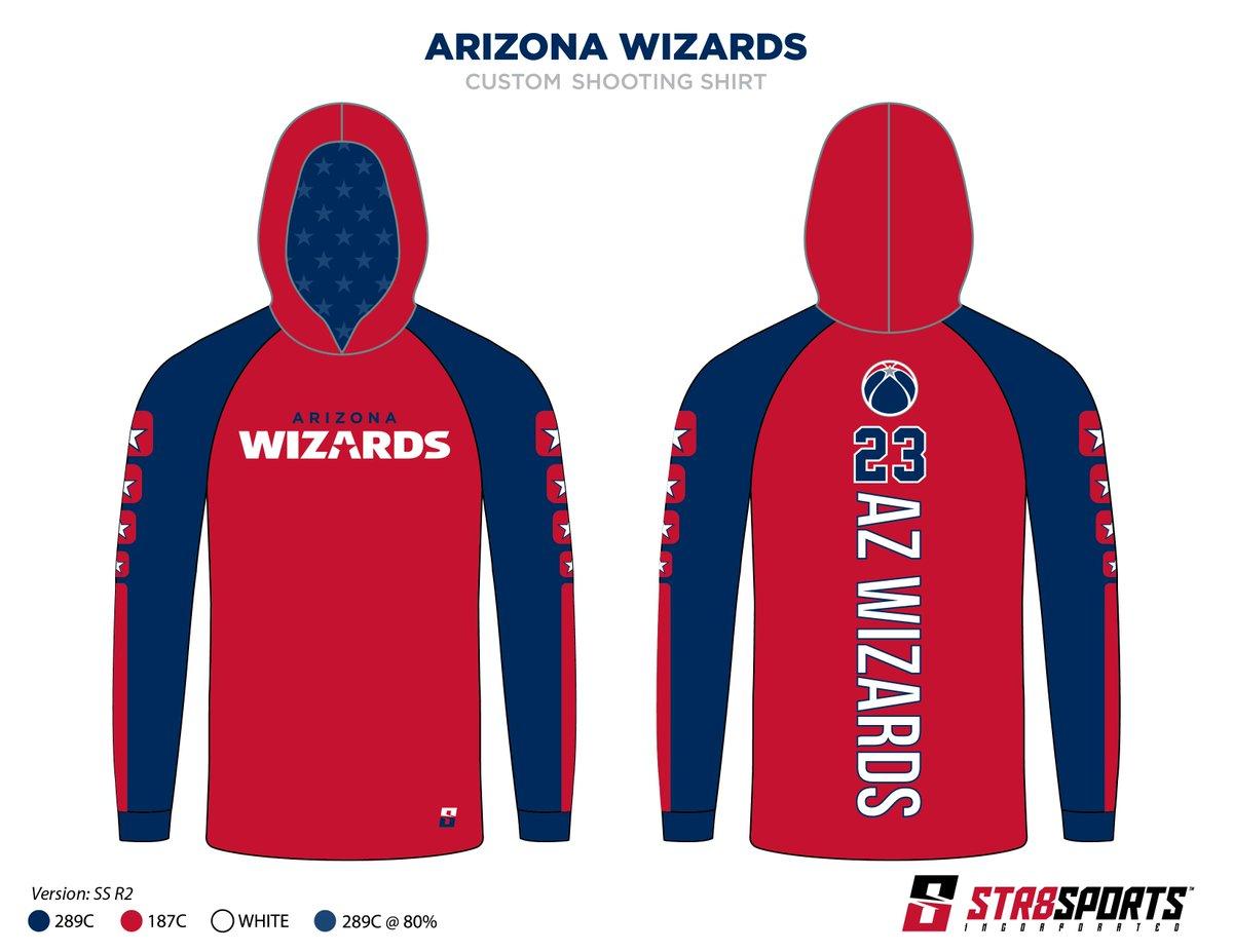 Str8 Sports Inc On Twitter Arizona Wizards Custom Made Long
