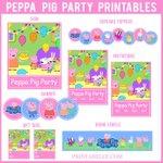 Peppa Pig Party Printables https://t.co/uMrIs3UjtR