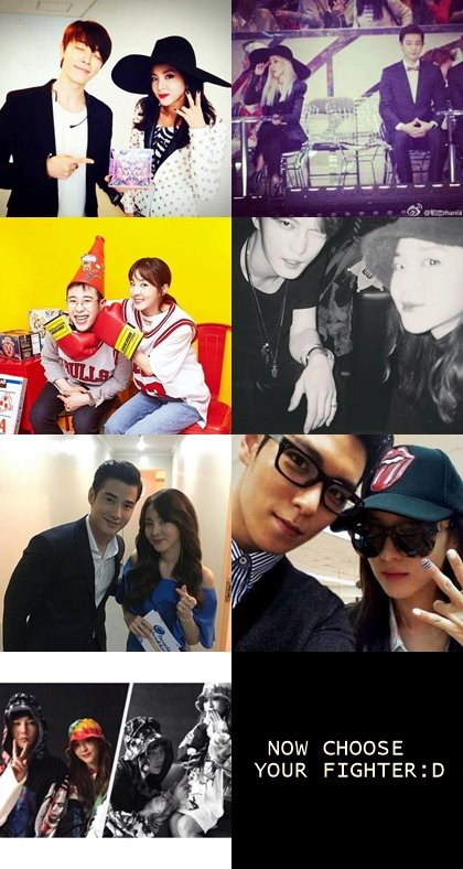 Donghae and Dara are dating and will marry and have a.