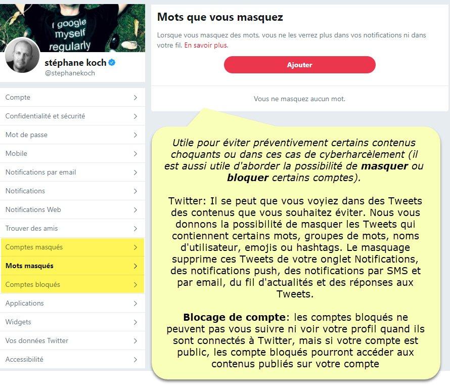 Jeunes Et Médias On Twitter 6 Comment Signaler Des Comportements