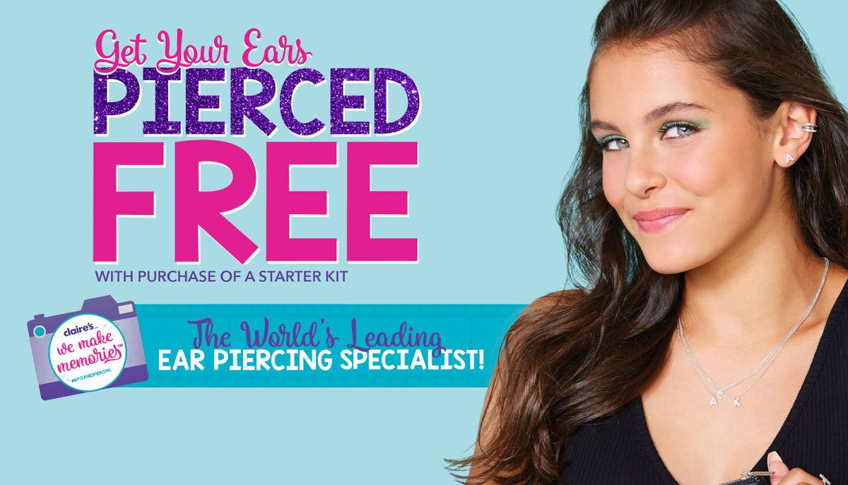 Regent Arcade Twitterren Get Your Ears Pierced For Free With The