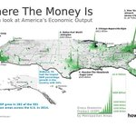Image for the Tweet beginning: #GeoawesomeMapOfTheDay Where's the money in