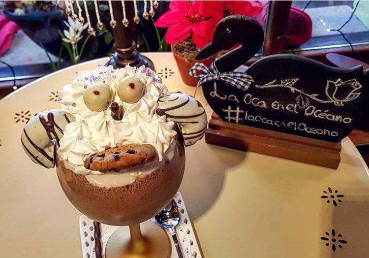 La Oca En El Océano Auf Twitter Batido Nuria De Donettes Cookies Y Licor De Chocolate Blanco