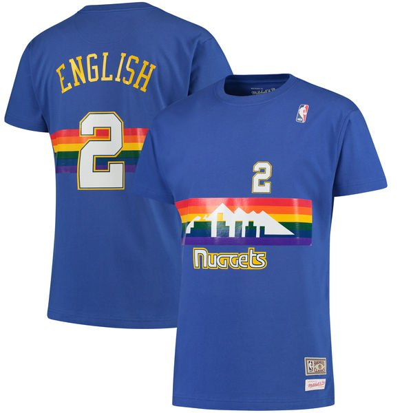 Nuggets English Jersey: Alex English's Birthday Celebration