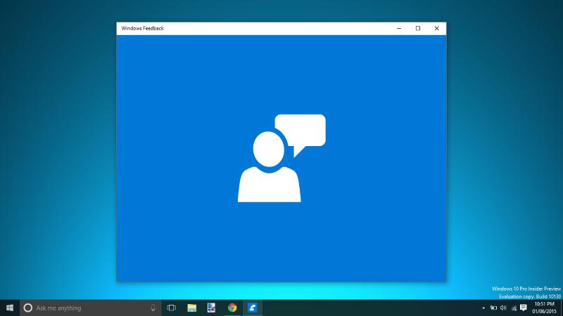كيفية تعطيل Feedback في  Windows 10