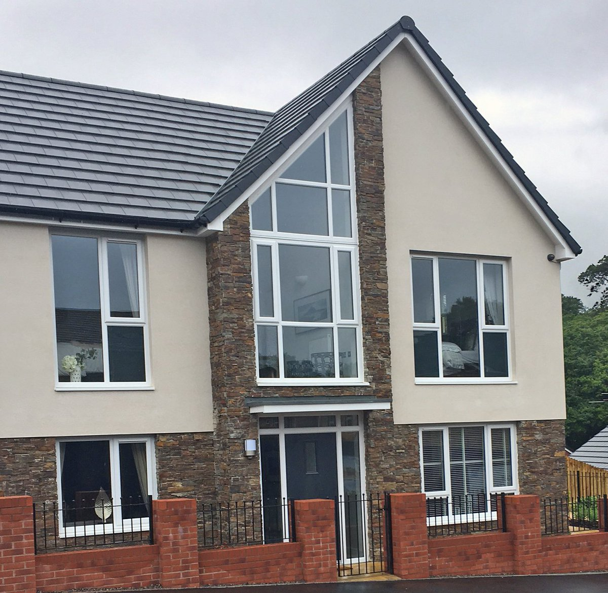 Rus Roof Tiles On Twitter 43 New Homes In Swansea Beneed From Rusrooftiles Grampian As Part Of A Wider Redevelopment Programme Wales