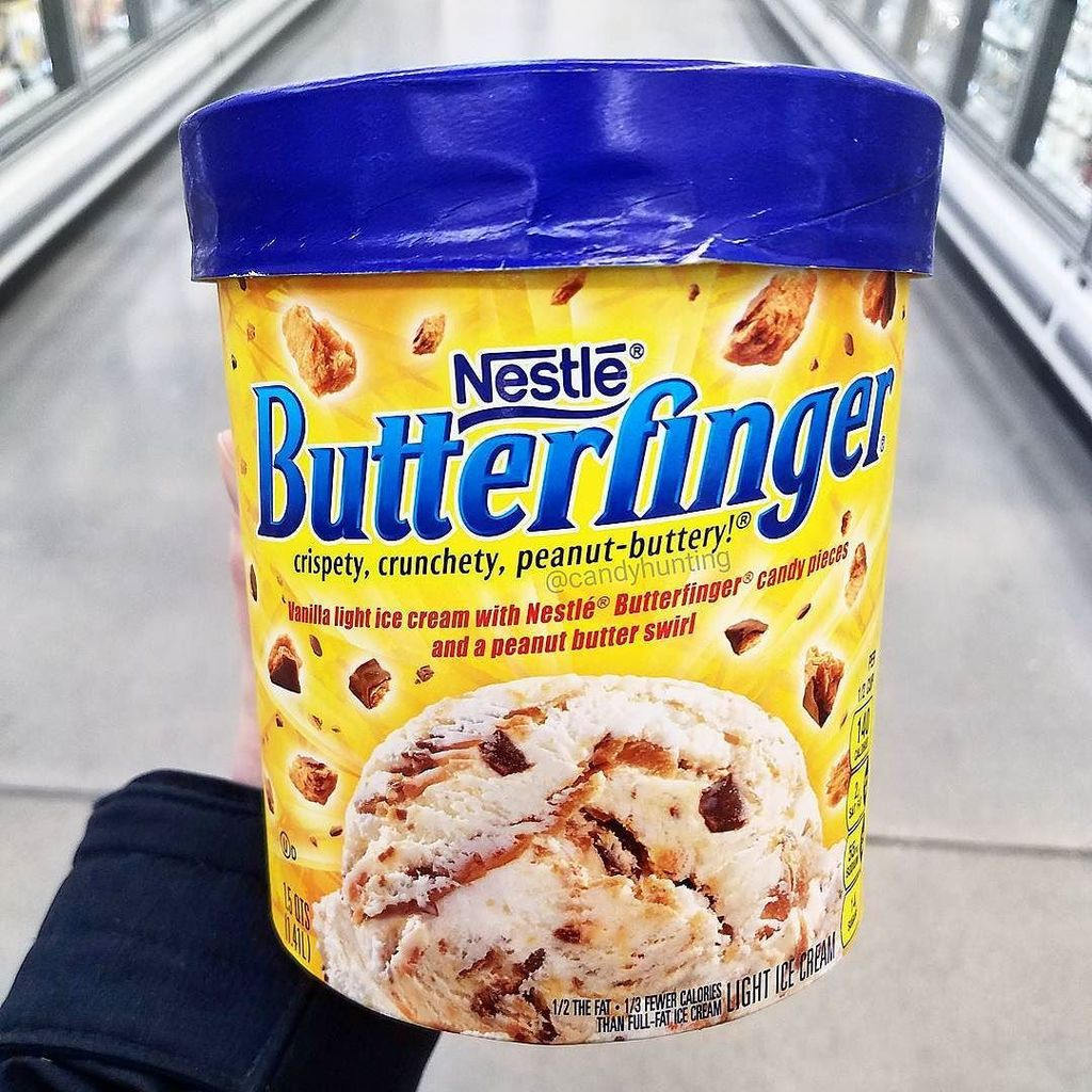 Candy hunting on twitter edys butterfinger ice cream has s new edys butterfinger ice cream has s new look still the same vanilla ice cream with butterfinger pieces and a peanut butter swirl ccuart Images