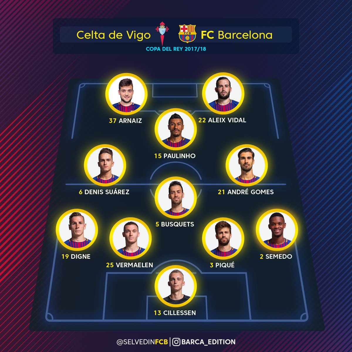 Celta Vigo Vs Barcelona Direct: [Copa Del Rey] Celta Vigo Vs. Barcelona ...... 01.00