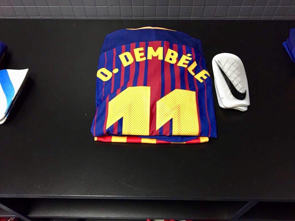 Усман Дембеле (Барселона)