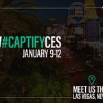 Self-driving cars, robotics and the 5G revolution. Just some of the trends hitting @CES 2018 next week. Meet Captify there, get in touch and book a meeting at info@captify.co.uk #CES2018